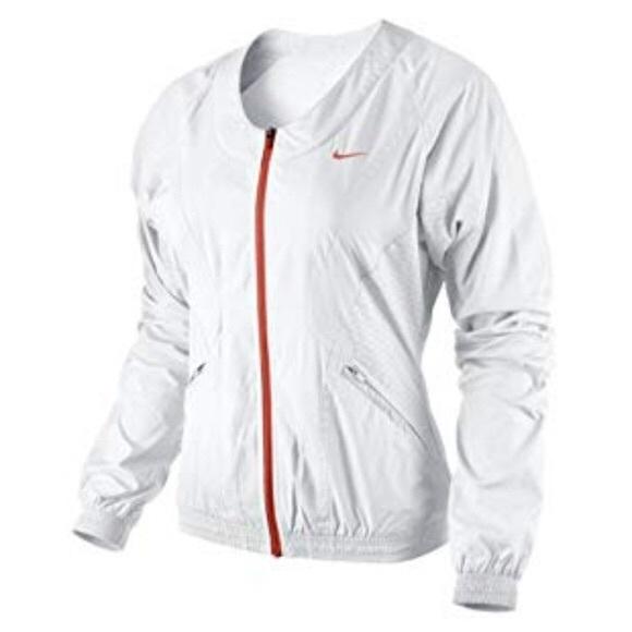 b4bd640dedd7 NWT XL White Nike Tennis Ace Zip Jacket Sharapova